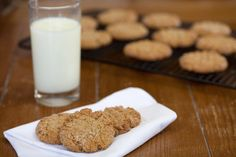 Peanut Butter & Oatmeal Cookies - gotta try - my 2 favorite cookies as 1