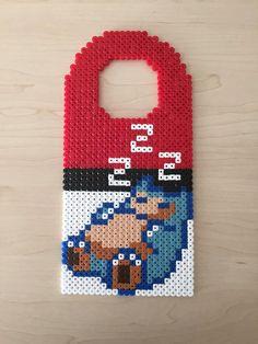Pokémon Snorlax Pixel Bead Door Hanger