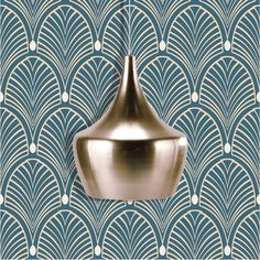 Discover recipes, home ideas, style inspiration and other ideas to try. Motif Art Deco, Art Deco Design, Wall Design, Adhesive Wallpaper, Home Wallpaper, Storm Wallpaper, Gatsby, Salon Art Deco, Gifts For Photographers