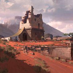 Nick gindraux madagascar tower ruins1