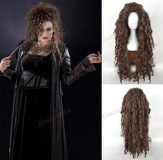 Aliexpress.com : Buy new arrival  Harry Potter Bellatrix Cosplay Wigs fashion Style Fluffy Curly Cos Wig/Hair free shipping from Reliable hair products for wigs suppliers on YIWU JIASINI COSPLAY WIG INTERNATIONAL TRADE CO.LTD    Alibaba Group