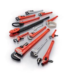 RIDGID®, the world's leading manufacturer of pipe working tools, produces today millions of pipe  wrenches with types and sizes to fit every application. All current RIDGID® wrenches are based on  the same timeless design as the original RIDGID® Heavy-Duty wrench dating from 1923.