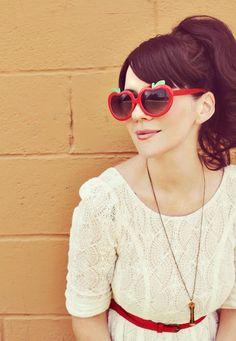 Elsie larson. Absolutely perfect. I love those sun glasses!