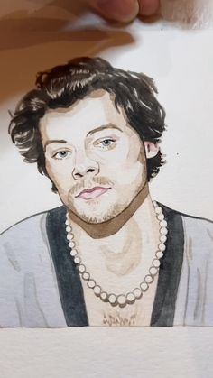 Comment any questions you have!! And I'll try to address them in my next videos!! #harrystyles #funny #art #watercolor #painting #tutorial #👩🎨🎨 Realistic Drawings, Art Drawings Sketches, Watercolor Portraits, Watercolor Paintings, Desenho Harry Styles, One Direction Drawings, Harry Styles Drawing, Art Painting Gallery, Harry Styles Photos