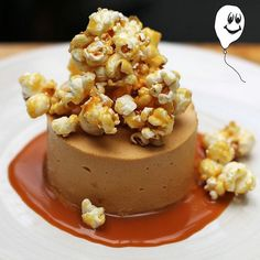 CHOCOLATE PARFAIT w/ salted caramel & caramel popcorn. Every once in a while you've gotta indulge. CONGRATS!  @thegracedarling  by congratseats