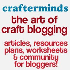 Blogging Resources | CrafterMinds