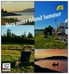 Spending the summer at Thunderbord RV Park in Campbell River, BC on Vancouver Island. Love Your RV!  #RVing #Camping http://www.loveyourrv.com/review-thunderbird-rv-park-in-campbell-river-bc/