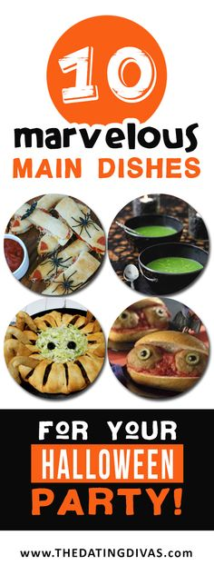 50 MORE Halloween Food Ideas Halloween parties, Food ideas and - halloween party foods ideas