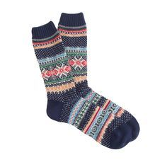 H&M fairisle socks - Google Search