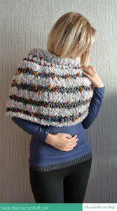 Simple Crochet Poncho ~ Jane Green - Beautiful Crochet Stuff