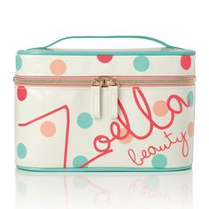 Zoella Beauty Classic Vanity Case -For storing all your cosmetics in Zoella Makeup Bag, Zoella Beauty Range, Beauty Vanity Case, Gifts For Makeup Lovers, Youtuber Merch, Beauty Bible, Makeup Storage, Makeup Case, Cosmetic Case