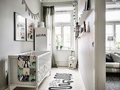 Een Zweeds appartement met in elke kamer een andere stijl - Roomed