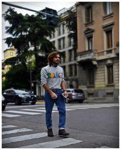 On the street Via Senato Milan www.maurodelsignore.com