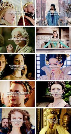 10 favorite historical ladies