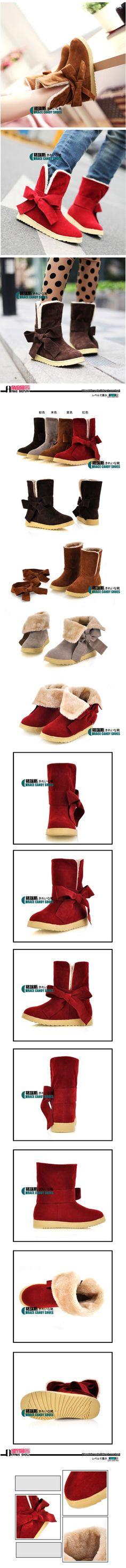 2012 de outono einverno botas de neve doce laço laço apartamento calcanhar algodão acolchoado botas sapatos