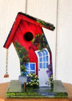 I knew a crooked bird who lived in a crooked house. Crooked House, Buy Birds, Bird Boxes, Yard Art, Bird Feeders, Home Art, Wood Crafts, Wood Projects, Birdhouses
