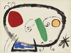 Joan Miró Personnage (Figure), 1955 MoMA