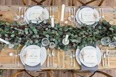 Eucalyptus Wedding Inspiration: Styled Shoot