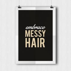Shop for handmade, vintage, custom, and unique gifts for everyone Base Shop, Typography Art, Messy Hairstyles, Digital Prints, Unique Gifts, Printable Art, Wall Art, Retro, Quotes