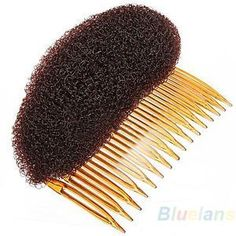 Fashion-Hair-Styler-Bouffant-Beehive-Shaper-Bumpits-Bump-Foam-On-Clear-Comb-BA3A #BouffantHairHairstyles #BouffantHairBob