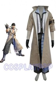 Snow 65% Cotton 35% Polyester in Final Fantasy XIII Cosplay Costume