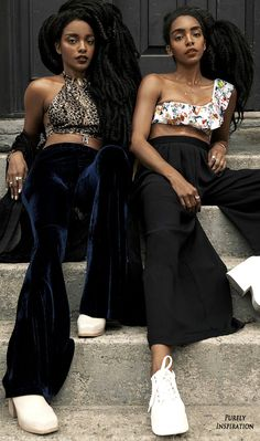 Elle Magazine July Issue (South Africa): Mirror Image; Featuring Cipriana & TK Quann, Diego Villarreal, Photographer | Purely Inspiration