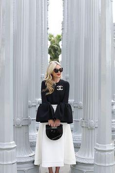 Black Women Fashion, White Fashion, Look Fashion, Fashion Outfits, Womens Fashion, Net Fashion, Fashion Moda, Fashion Clothes, Latest Fashion