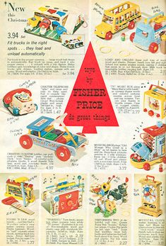 Fisher Price advertisement from 1965