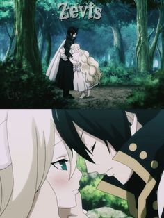 YESSSSSS love this ship! Zeref and Mavis from fairy tail. Fairy Tail Love, Fairy Tail Nalu, Fairy Tail Ships, Zeref Dragneel, Gruvia, Fairy Tail Dragon Slayer, Fairy Tail Photos, Dark Mermaid, Jellal And Erza