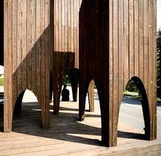 'signal barn' by jun igarashi architects, hokkaido, japan