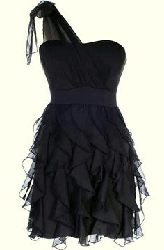 Love this black dress <3