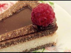 FarkasVilmos: Kókusztorta zilatortaformában, tojásmentes, gluténmentes, cukormentes Winter Food, Fondant, Cake Recipes, Cheesecake, Paleo, Food And Drink, Gluten Free, Vegan, Cooking
