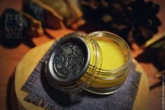 Herbal perfume with celtic knots