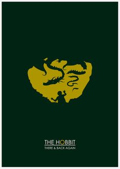 The Hobbit Minimalist by Adam James.