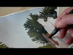▶ A quick little watercolor - YouTube