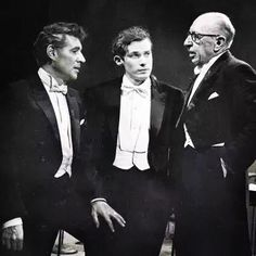 Leonard Bernstein, Glenn Gould & Igor Stravinsky ( one of them can shock your brain , 3 of them together ? Get ready to have a twisted brain )
