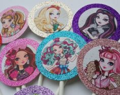 Ever after high DIY party decorations