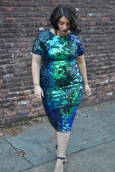 This dress....oh my god.  This LOOK....beyond words.  nadia aboulhosn: Sequin Mermaid