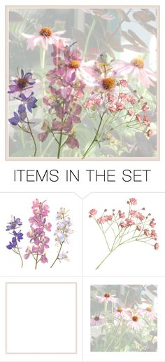 """""""Flowers"""" by bambi-52 ❤ liked on Polyvore featuring art"""