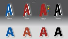 LED lettering Complilight variations