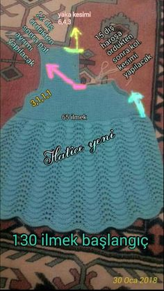 This Pin was discovered by Ara Baby Sweater Patterns, Knitting Patterns, Crochet Fabric, Crochet Baby, Kids Dress Clothes, Knit Baby Dress, Baby Sweaters, Baby Girl Dresses, Baby Knitting