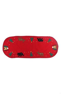 New World Arts Moose & Bear Table Runner available at #Nordstrom