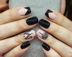 Incredible Combo French Tip Nails And Mandala Art ❤️Mandala nail art is intricate, popular and Bohemian that is why we invite you to have a closer look at our mandala nails designs collection!❤️ See more: naildesignsjourna. Hot Nails, Swag Nails, Pink Nails, Hair And Nails, Lace Nails, Mandala Nails, French Tip Nails, Nail French, Nagel Gel