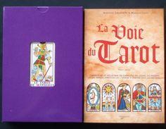 Het doosje van Jodorowsky   Tarot Cirkel Le coffret de Jodorowky with La Voie du tarot and pocket version of Marseille tarot Camoin Jodorowsky