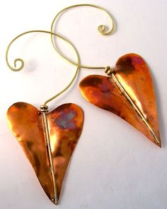 Favorite  Like this item?    Add it to your favorites to revisit it later.  Copper Hammered Heart