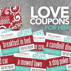 ON SALE! Printable love coupons make the perfect quick and easy Valentine's Day gift for hubby. Snag the sale price exclusively at www.psiadoreyou.com until Saturday only! A portion of every sale goes to help kids fighting cancer. By Studio 120 Underground, $3.50