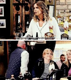 Charity x Vanessa / Chas x Paddy gif Michelle Hardwick, Emmerdale Actors, Favorite Tv Shows, My Favorite Things, Little Brothers, Best Sister, Johnny Was, Soaps, Charity