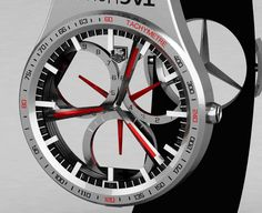 TAG-Heuer Formula 1 Watch Concept by Peter Vardai » Yanko Design