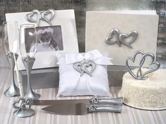 Deluxe 7 PC Two Hearts That Beat As One Set