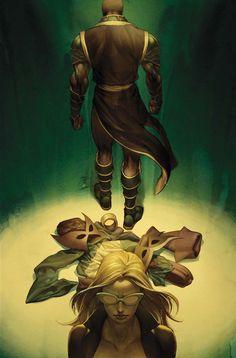 Mockingbird & Hawkeye, New Avengers: The Reunion #4 by Jo Chen